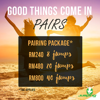 JUMP IN PAIR - 8 JUMPS