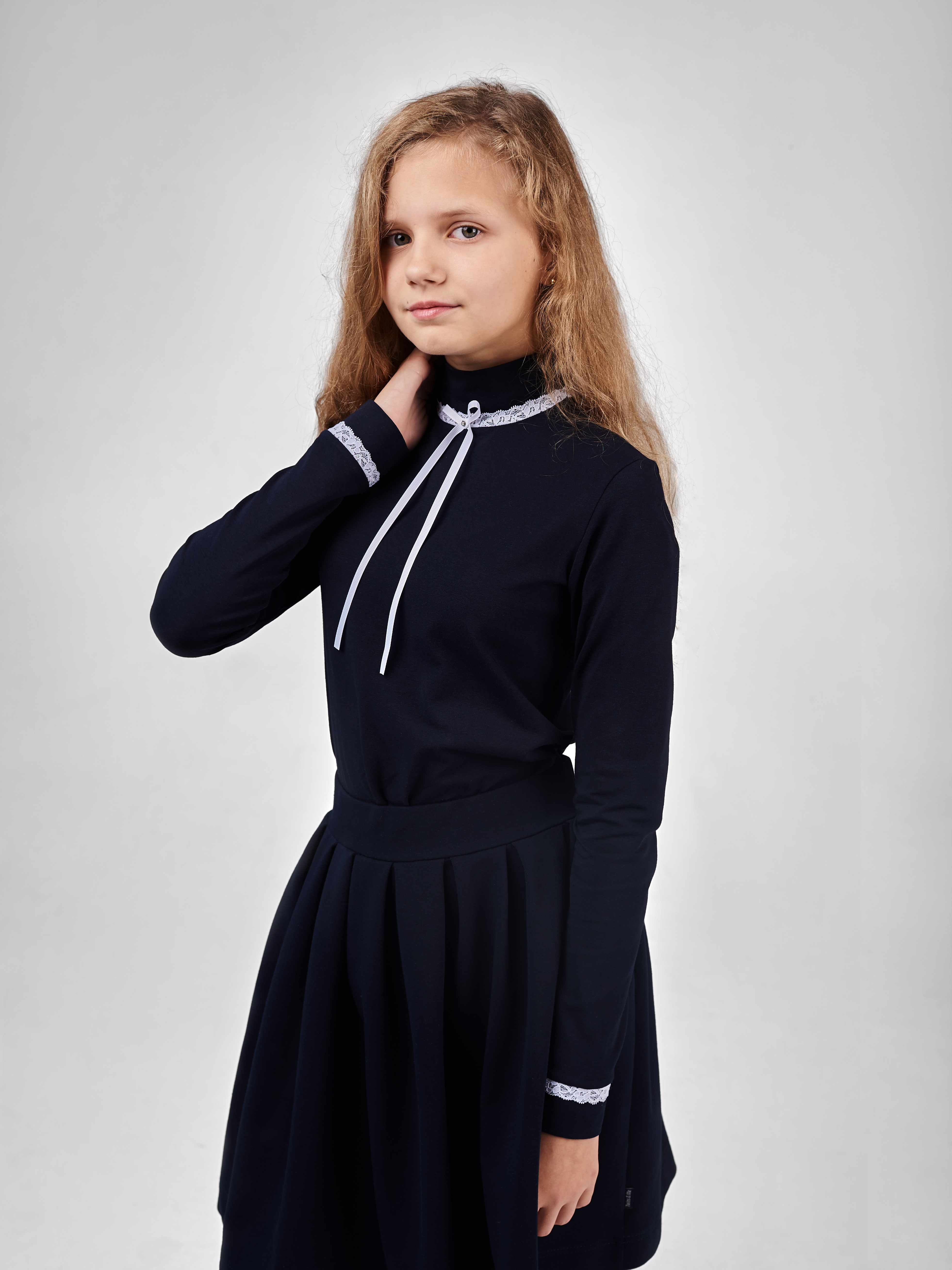 Водолазка для девочки 201905
