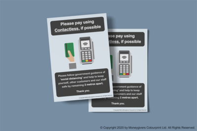 Contactless Payments Poster