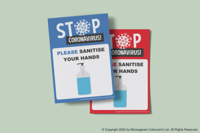 Sanitise Hands Poster