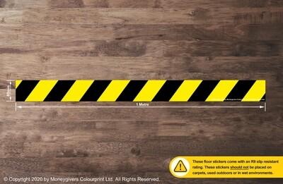 Hazard Strip (Floor Sticker)