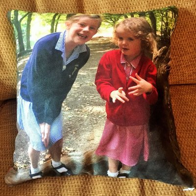 Cushion - double-sided photos