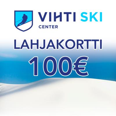 Lahjakortti 100€ Vihti Ski Center