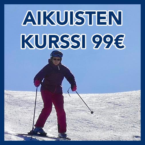 Aikuisten kurssit | alkeet- ja jatkokurssi 99€