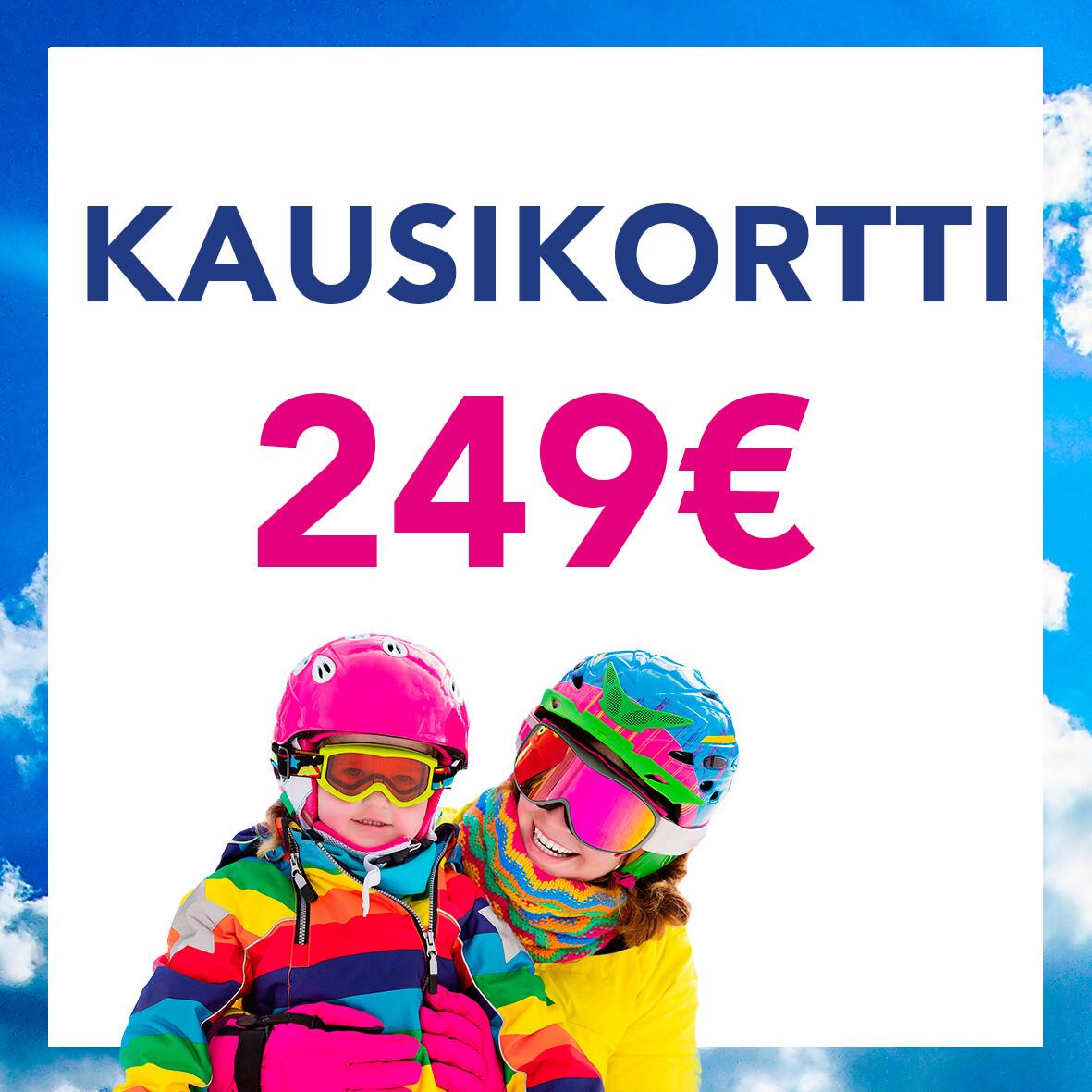 Kausikortti 249€ (tarjous)