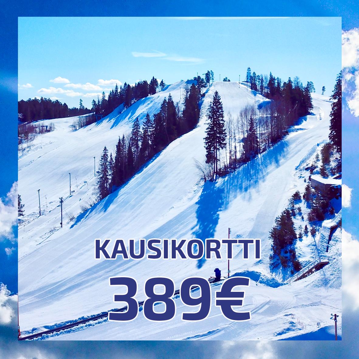 Kausikortti 389€