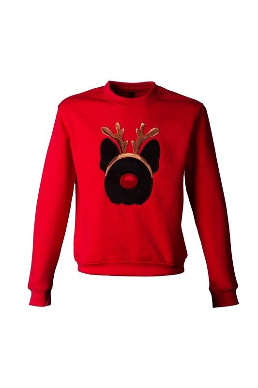 Unusi Limited Christmas editon sweatshirt with sewed out design