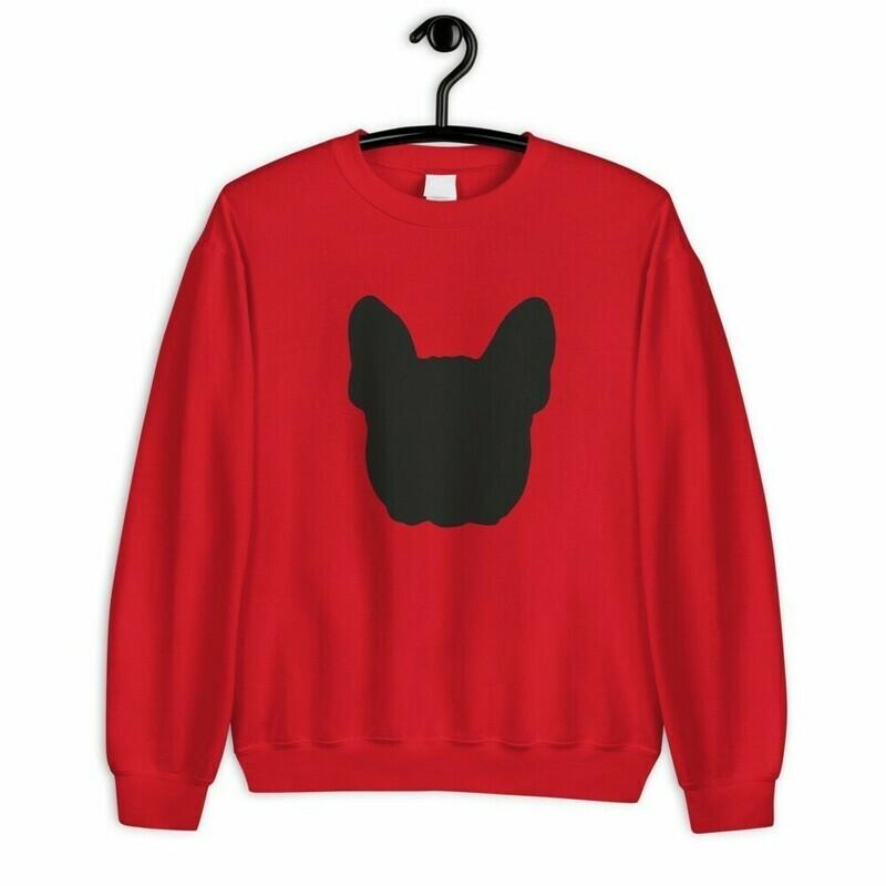 UNUSI Red Sweatshirt With black Design