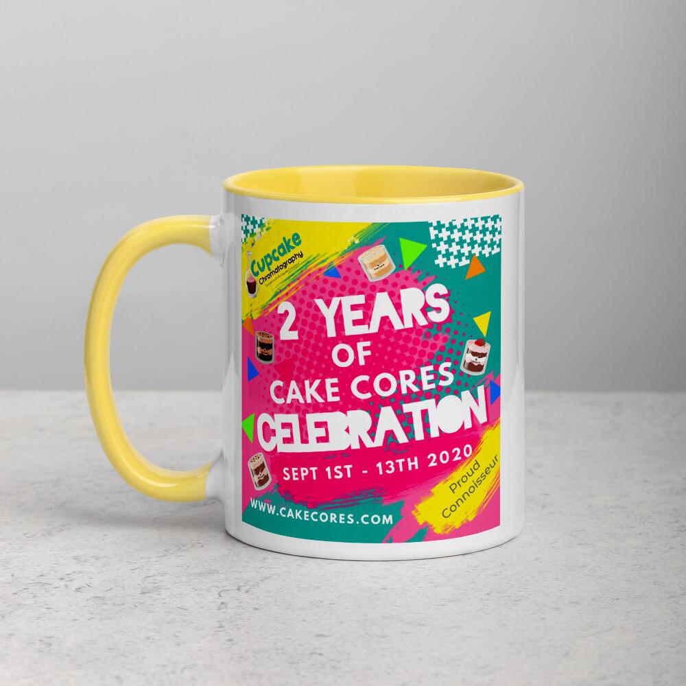 2 years of Cake Cores Mug