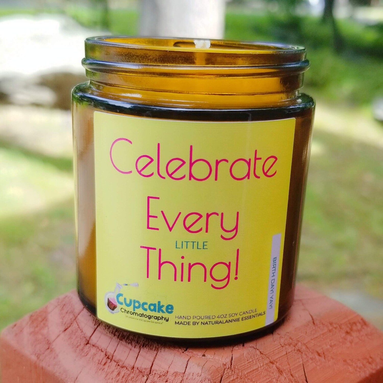 Celebrate Everything Candle