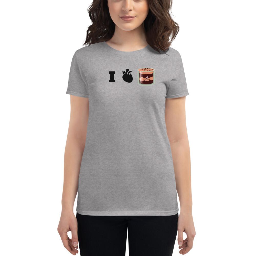 I Heart Cake Cores - Women's T-shirt