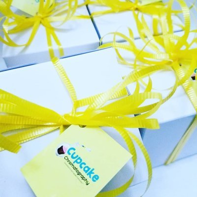 Personalized and Packaged Cake Cores (12 pack)