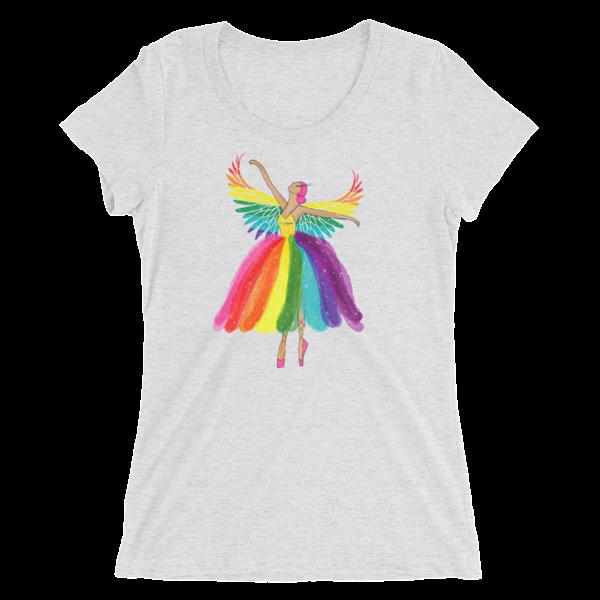 Avatar Fitted Rainbow Ballerina