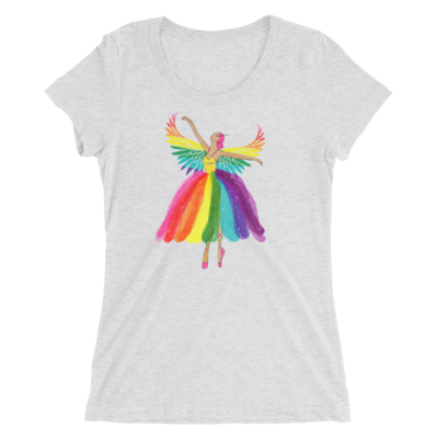 Avatar Fitted Rainbow Ballerina