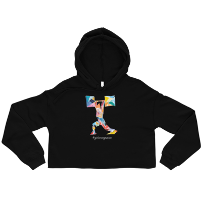 STRENGTH! Hoodie Crop Top