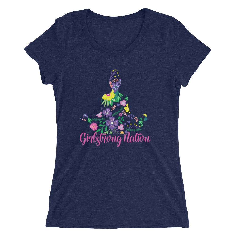 Flower Girl! Navy Triblend