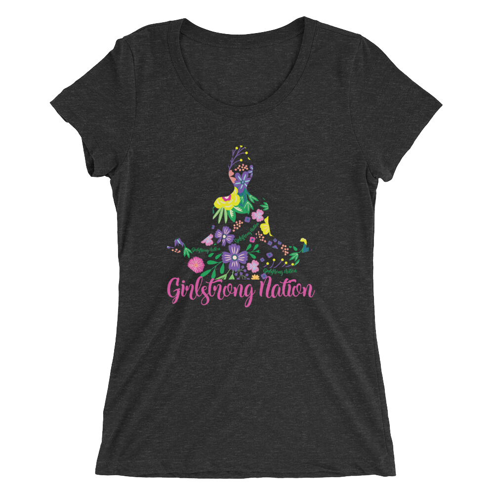 Flower Girl! Charcoal - Black Triblend