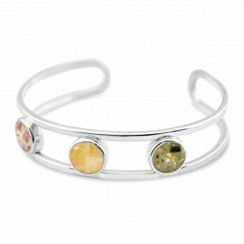 Triple Sand Globe Bracelet