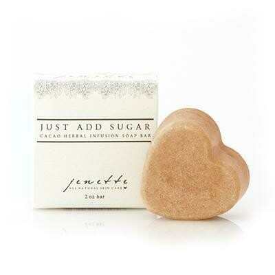 Just Add Sugar Cocao Herbal Infusion Soap Bar