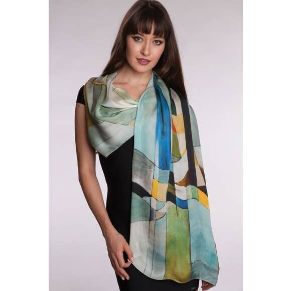 Contemporary Satin Scarf