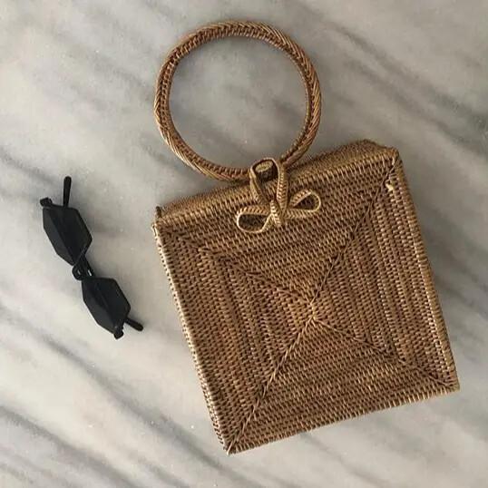 Atta Malika Straw Bag