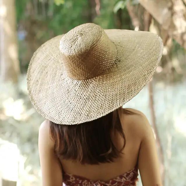 Swasti Wide Brim Straw Hat