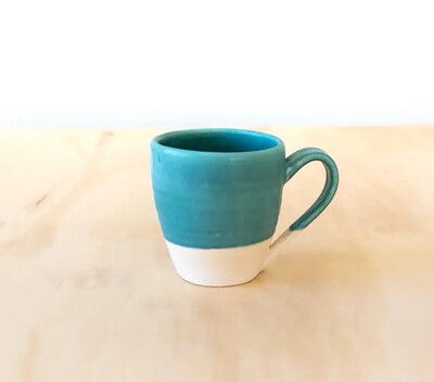 Ocean Colored Dipped Mug