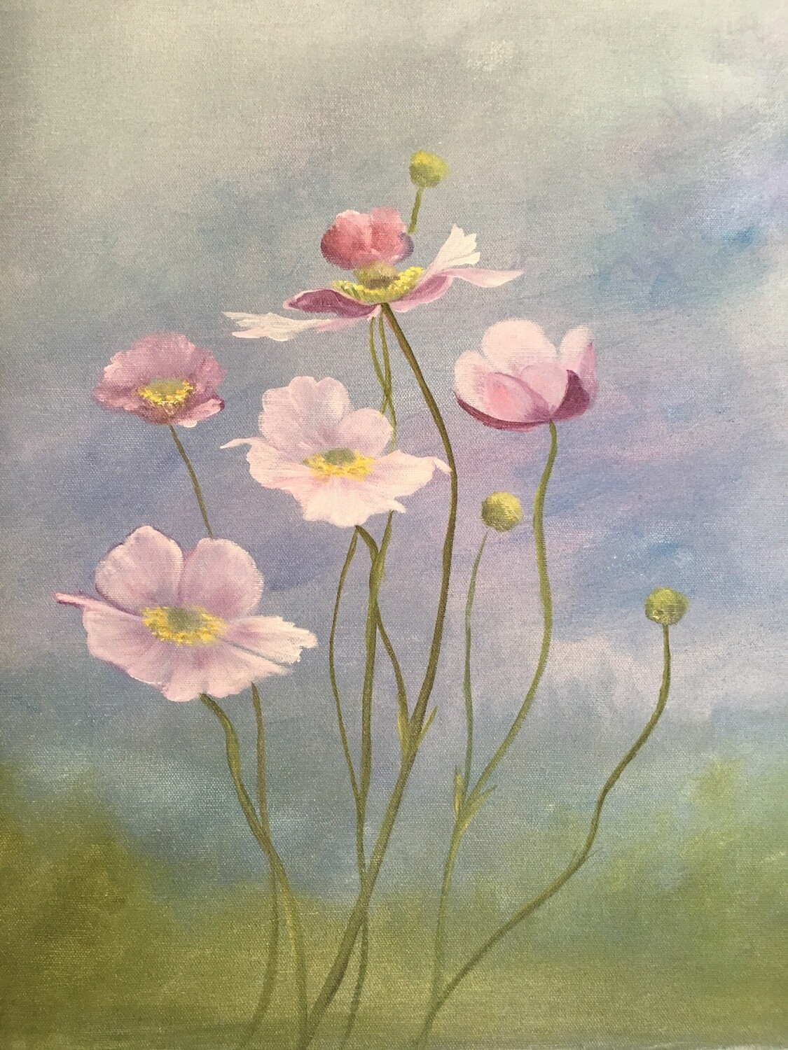 Lavender Poppies