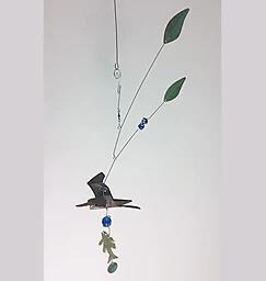 Heron Handcrafted Kinetic Mobiles