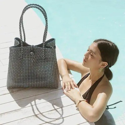 TOKO Recycled Woven Tote Bag