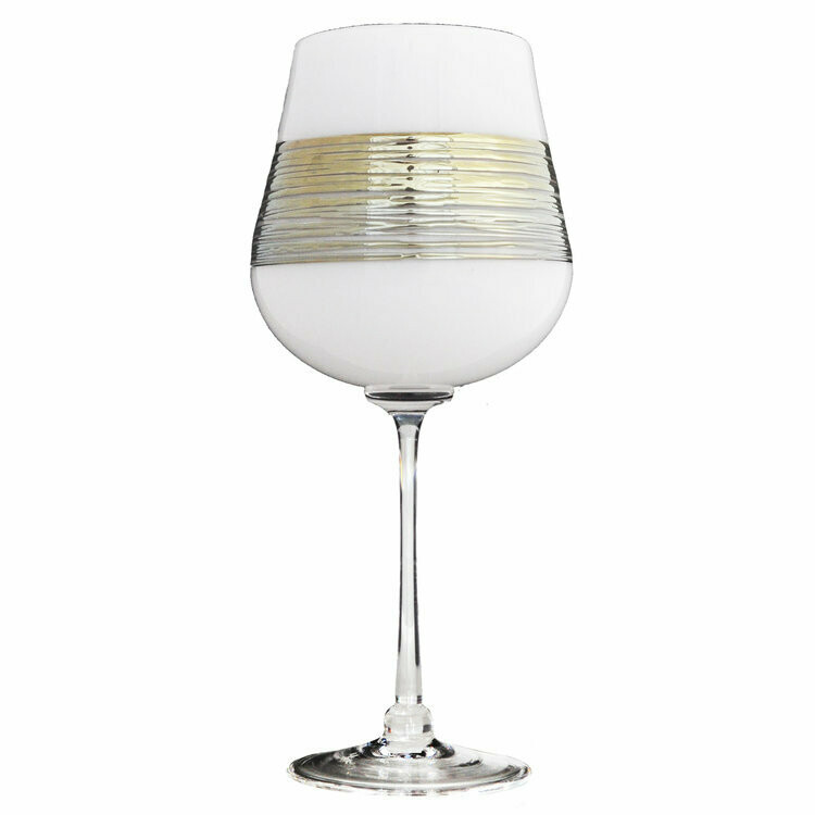 White Silverspun Wine Goblet