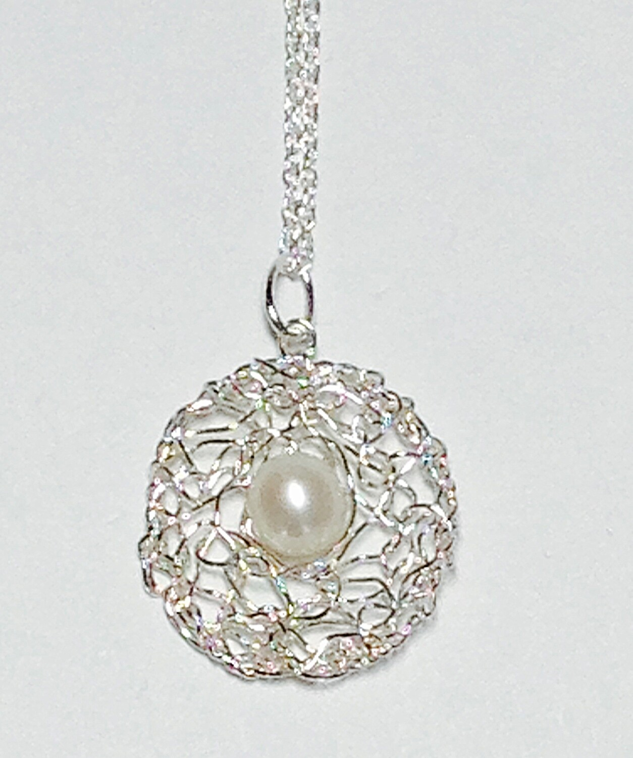 Sterling Pendant Nacklace