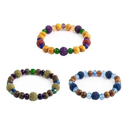 Unisex Lava Diffuser Bracelets