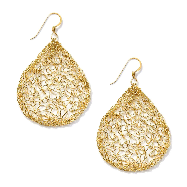 Pear Dangle Earring