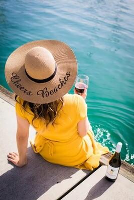 Cheers Beaches Floppy Sun Hat