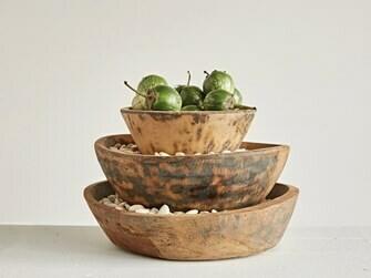 Handcarved Wooden Bowls