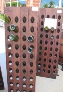 80 Bottle Champagne Riddling Rack
