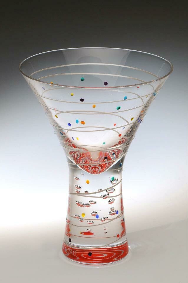 Contemporary Martini Glass