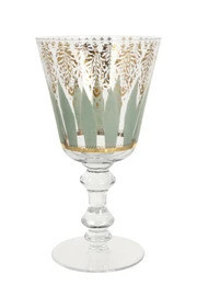18k Gold Aquarius Goblets - Set of 4