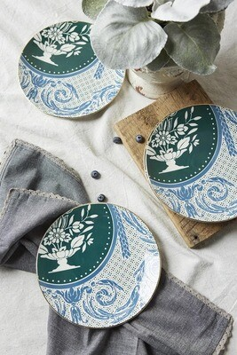 Mint Devine Dessert Plate