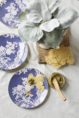 Everleigh Lavender Dessert Plate