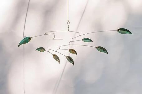 Leaves Kinetic Mobile