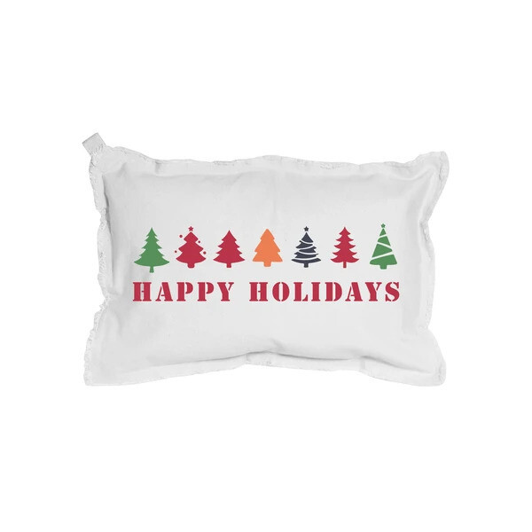 Holiday Hand Painted Pillow