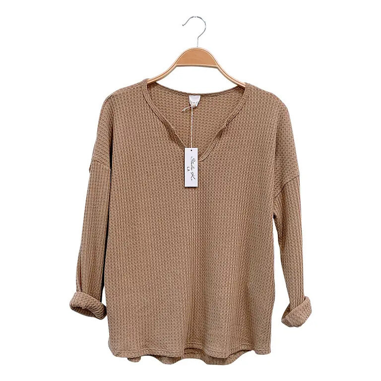 Classic Waffle Texture Top