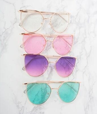 Wire Rim Sunglasses
