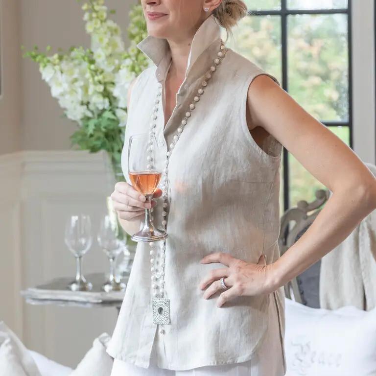 Classic Linen Shirt - Sleeveless