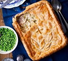 Pie - Chicken and Mushroom Family size