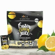 SOGA- Organic Lemon Juice Sachet 24x 10ml