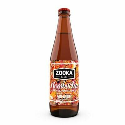 Kombucha- Ginger  340ml