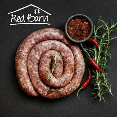 BEEF Boerewors - grass fed beef 500g